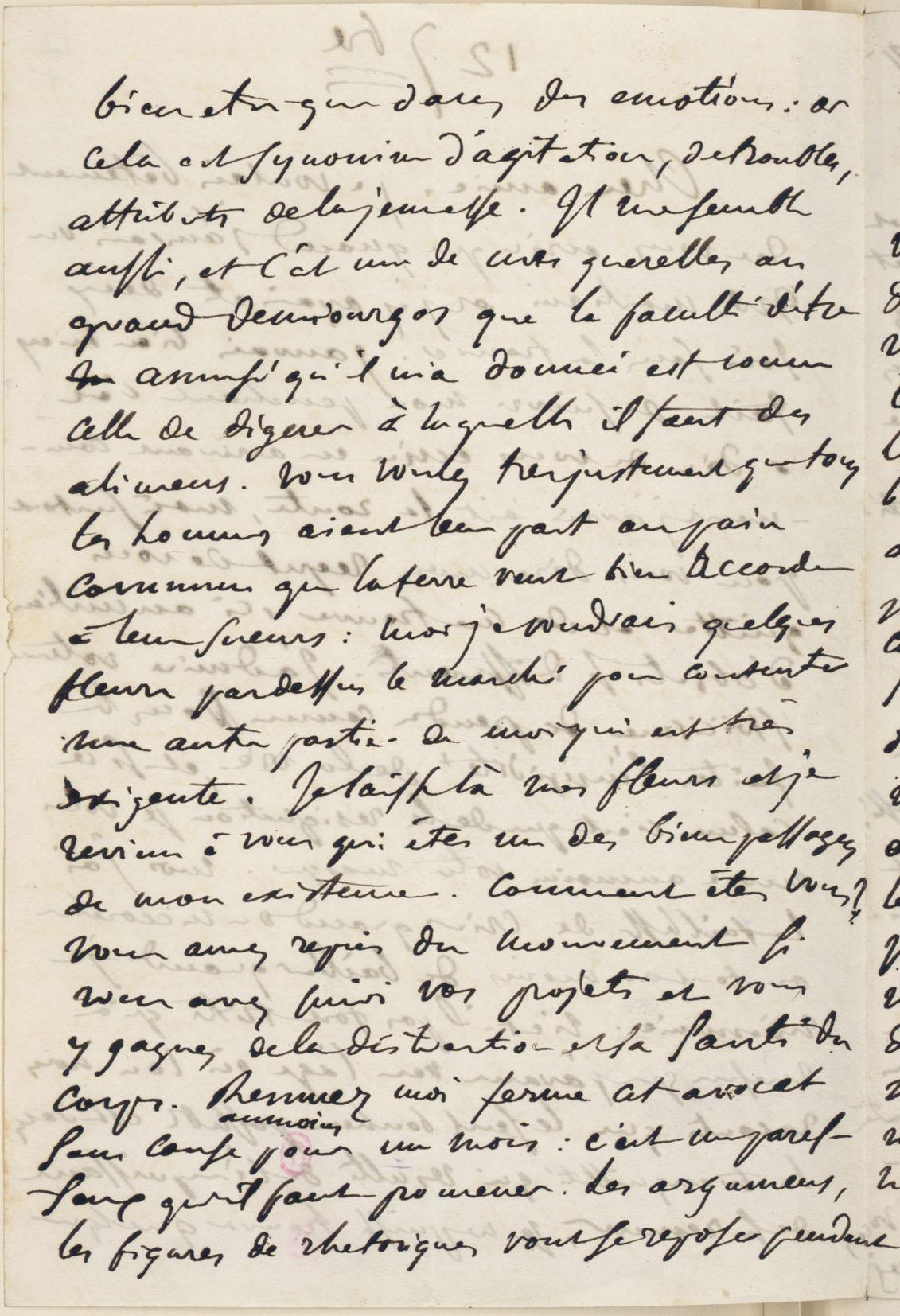 george sand lettre Fiche   Lettre à George Sand, 12 septembre 1846   Correspondances  george sand lettre